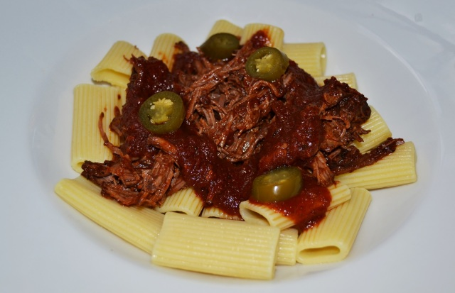 Shredded Beef Pasta2
