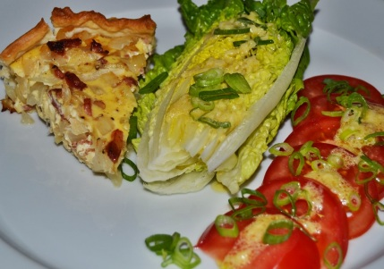 Zwiebelkuchen Salat 3